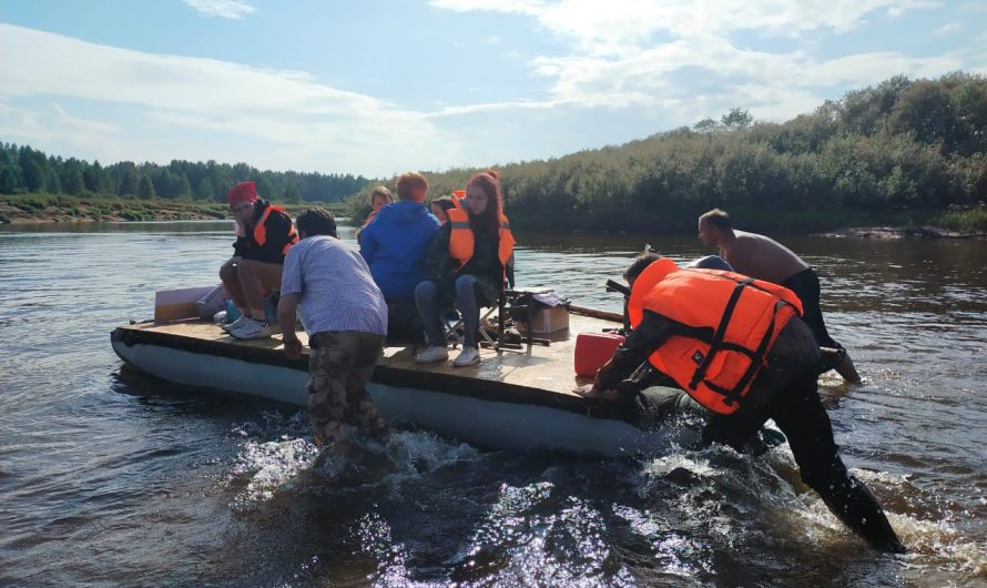 Подводя итоги лета: молодежный водный сплав по реке Мологе, 2021