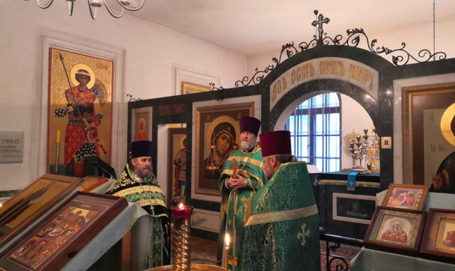Престольный праздник в храме преподобного Иосифа Волоцкого